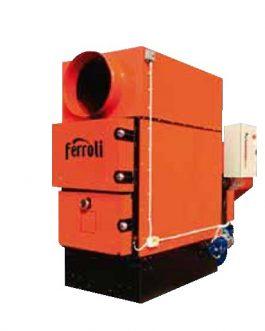 Generador de aire caliente a biomasa Ferroli BEMUS 230KW