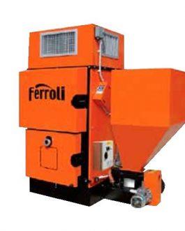 Generador de aire caliente a biomasa Ferroli BEMUS 40/60/80KW