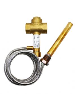 Válvula de descarga térmica