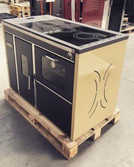 Cocina termococina de pellet con horno BOSPHORUS 13KW