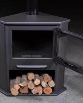 Estufa de leña R1 12,4KW