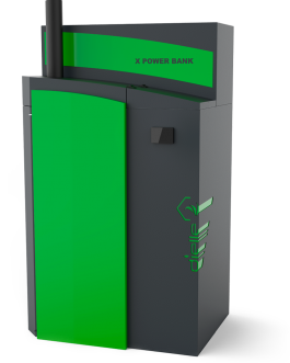 Caldera de pellets X Power Bank