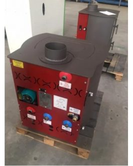 Termoestufa leña y carbón hidro HAMMAM Standard 19KW