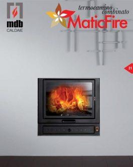 Termochimenea policombustible MaticFire 24/34KW